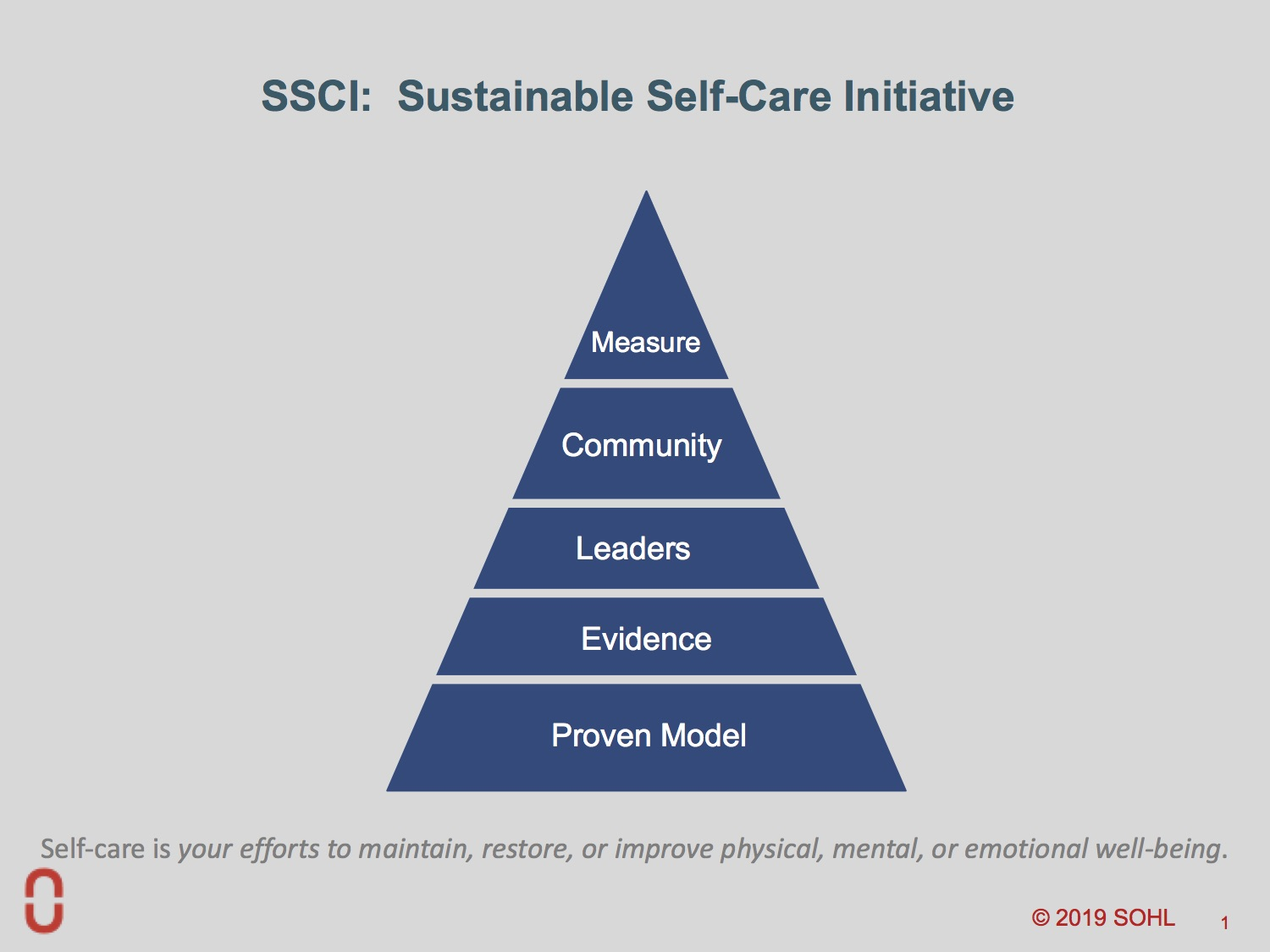 SOHL SSCI Implementation Guide